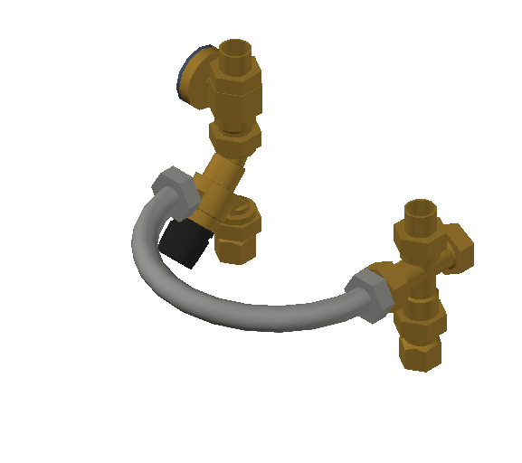 SA_Mixing_Valve-TankMixer_MEPContent_Caleffi-Brass-520_0.75 inch. NPTF x 0.75 inch. Sweat with pressure gauge_US-EN.dwg