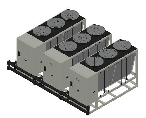 HC_Heat Pump_MEPcontent_Elco_Cascade AEROTOP L 65 3 Units_INT-EN.dwg