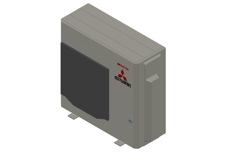 HC_Heat Pump_MEPcontent_Mitsubishi Heavy Industries_RAC_SCM100ZS-W_INT-EN.dwg