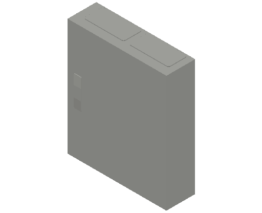 E_Distribution Panel_MEPcontent_ABB_ComfortLine CA-Cabinets_4 Rows_Empty Cabinet_CA24B - IP44 96 modules 650x550x160 empty with door_INT-EN.dwg