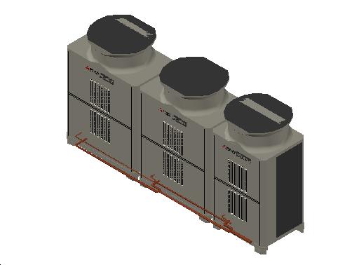 HC_Heat Pump_MEPcontent_Mitsubishi Electric Corporation_PUHY-EP850YSLM-A1_INT-EN.dwg