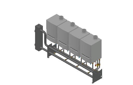 HC_Boiler_MEPcontent_De Dietrich Thermique_Cascade Wall-Mounted 4_Evodens Pro_4x AMC 90 with Concentric Connection 150_INT-EN.dwg