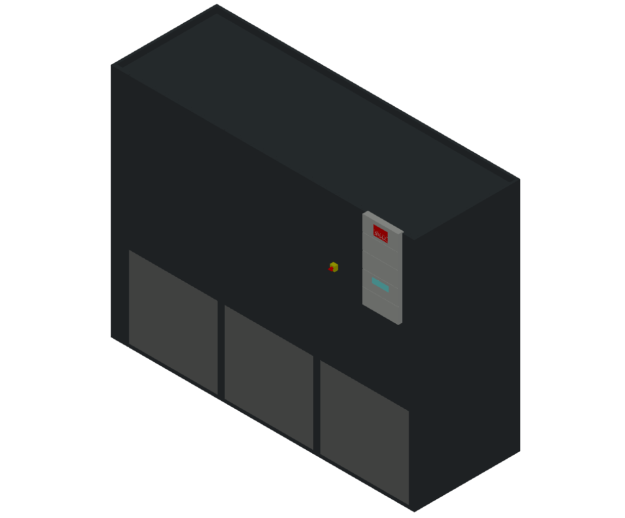 HC_Air Conditioner_Indoor Unit_MEPcontent_STULZ_CyberAir 3PRO_ALU_Dual Circuit GES_ALU_882_GES_INT-EN.dwg