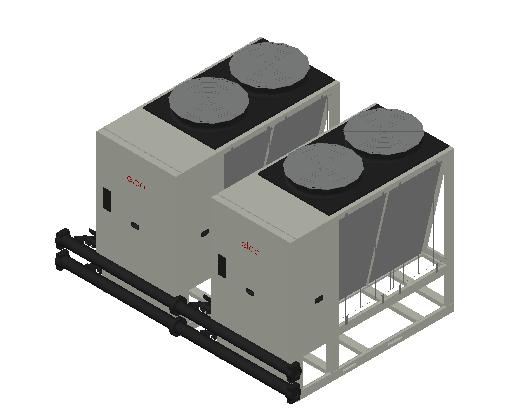 HC_Heat Pump_MEPcontent_Elco_Cascade AEROTOP L 61 2 Units_INT-EN.dwg