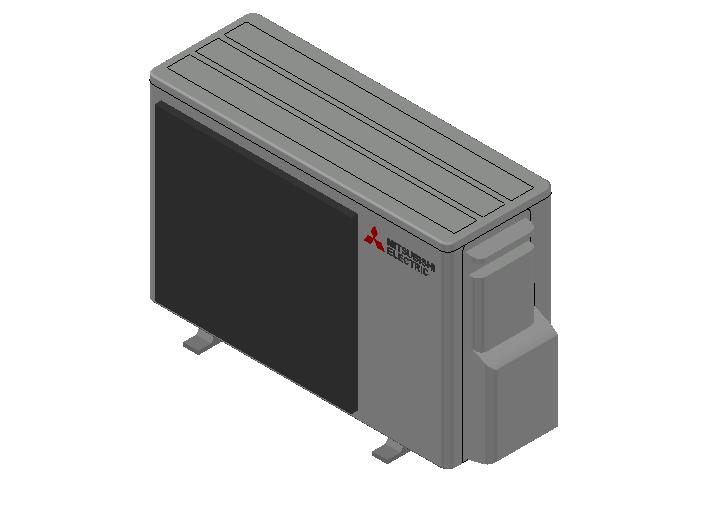 HC_Heat Pump_MEPcontent_Mitsubishi Electric Corporation_MXZ-2F53VF3-E2_INT-EN.dwg