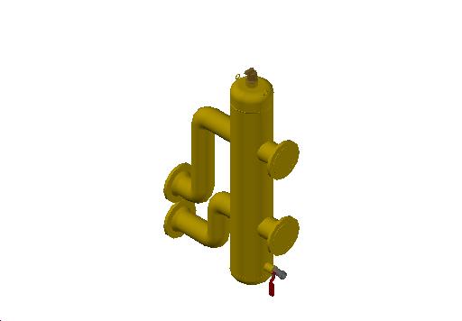 M_Separator_Air and Dirt_MEPcontent_Spirotech_SpiroCross-R_DN65-100 Without Magnet_XC0100FK45A01_INT-EN.dwg