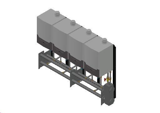 HC_Boiler_MEPcontent_Remeha_Quinta Ace 45-65-90-115 Cascade Freestanding 4_DN65 0-350kW - QAce90_INT-EN.dwg