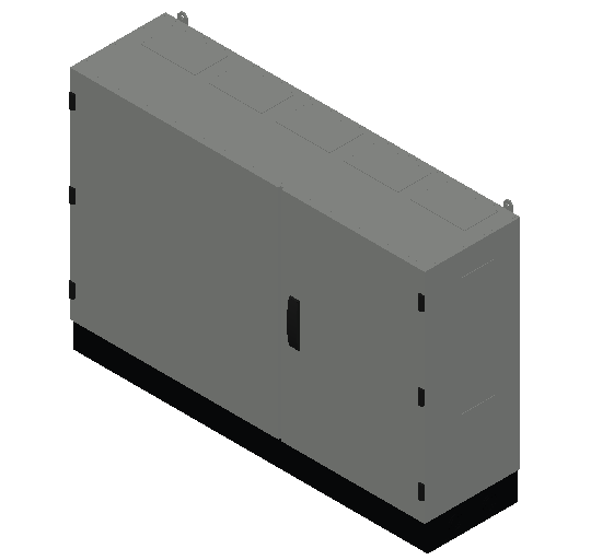 E_Distribution Panel_MEPcontent_ABB_TwinLine N 55_Earthed_800x1300x350_INT-EN.dwg