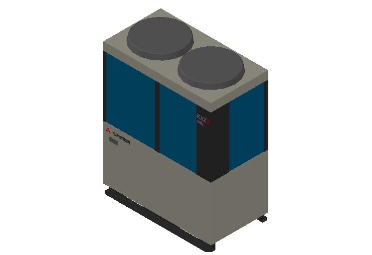 HC_Heat Pump_MEPcontent_Mitsubishi Heavy Industries_VRF_FDC280KXZRE2_INT-EN.dwg