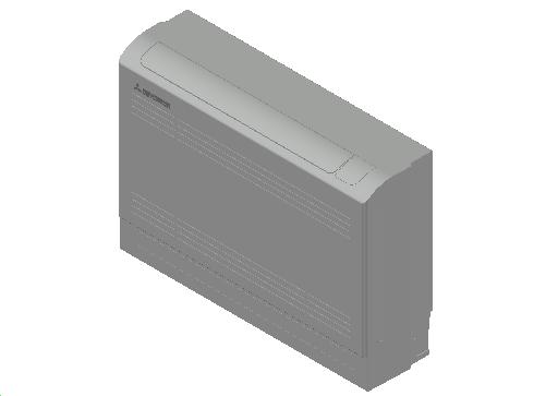 HC_Air Conditioner_Indoor Unit_MEPcontent_Mitsubishi Heavy Industries_VRF_FDFW45KXE6F_INT-EN.dwg