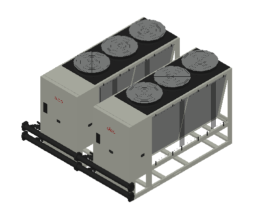 HC_Heat Pump_MEPcontent_Elco_Cascade AEROTOP L 88 2 Units_INT-EN.dwg