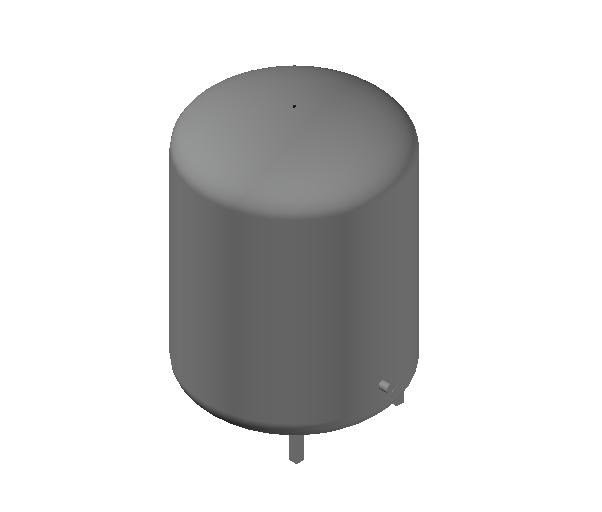 HC_Expansion Vessel_MEPcontent_Caleffi_556_400 Liters_DN20 DN25.dwg