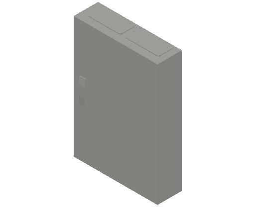 E_Distribution Panel_MEPcontent_ABB_ComfortLine CA-Cabinets_5 Rows_Empty Cabinet_CA25B - IP44 120 modules 800x550x160 media ventilated_INT-EN.dwg