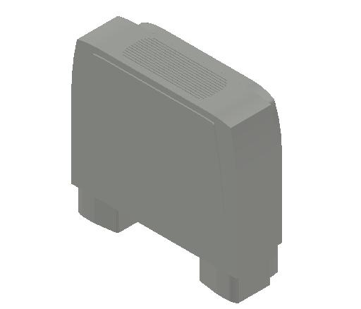 VE_Fan Coil Unit_MEPcontent_Sabiana_Carisma CRC MV_Heating Additional Coils_Carisma CRC MV 13+1_INT-EN.dwg