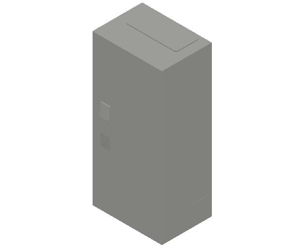 E_Distribution Panel_MEPcontent_ABB_ComfortLine B-Cabinets_4 Rows_B14 - IP44 48 modules 650x300x215_INT-EN.dwg