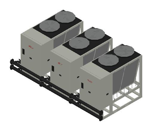 HC_Heat Pump_MEPcontent_Elco_Cascade AEROTOP L 61 3 Units_INT-EN.dwg