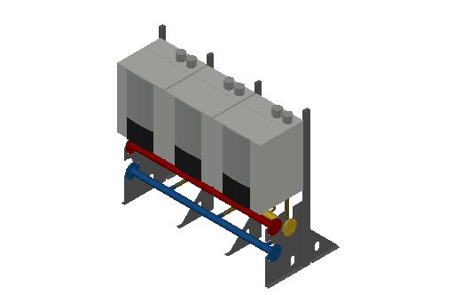 HC_Boiler_MEPcontent_Elco_THISION L EVO CASCADE_IN LINE_3 Boiler_DN65_INT-EN.dwg