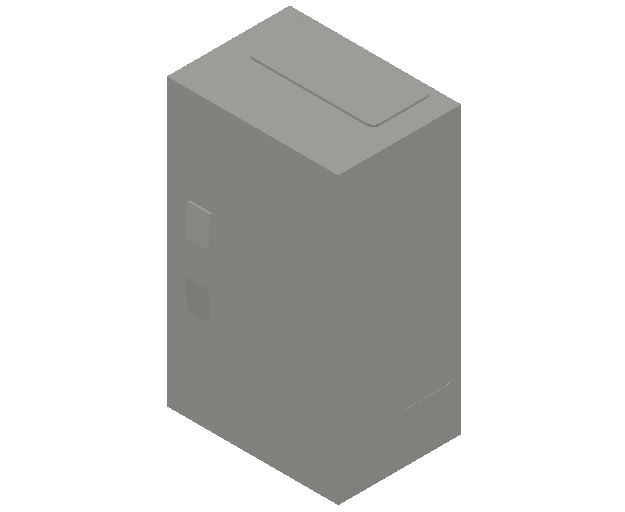 E_Distribution Panel_MEPcontent_ABB_ComfortLine B-Cabinets_3 Rows_B13 - IP44 36 modules 500x300x215_INT-EN.dwg