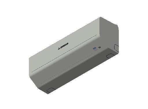 HC_Air Conditioner_Indoor Unit_F_MEPcontent_Mitsubishi Heavy Industries_RAC_SKM25ZSP-W_INT-EN.dwg