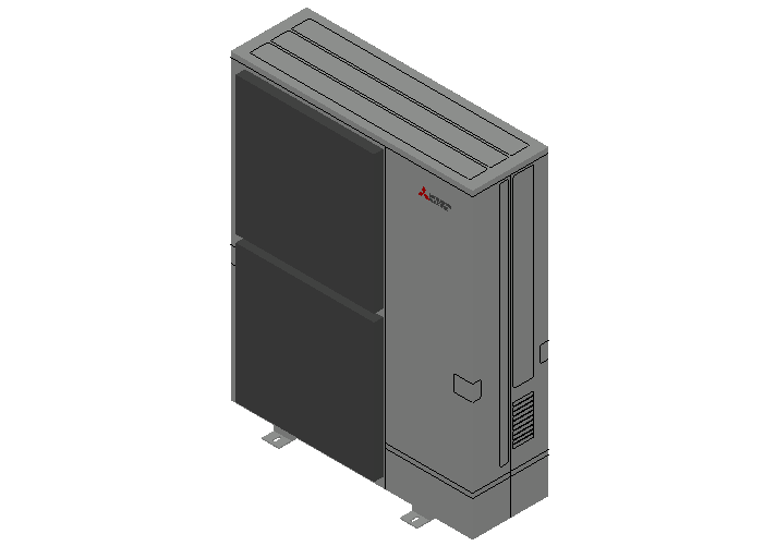 HC_Heat Pump_MEPcontent_Mitsubishi Electric Corporation_PUZ-ZM200YKA_Power Inverter_3 Phase_INT-EN.dwg