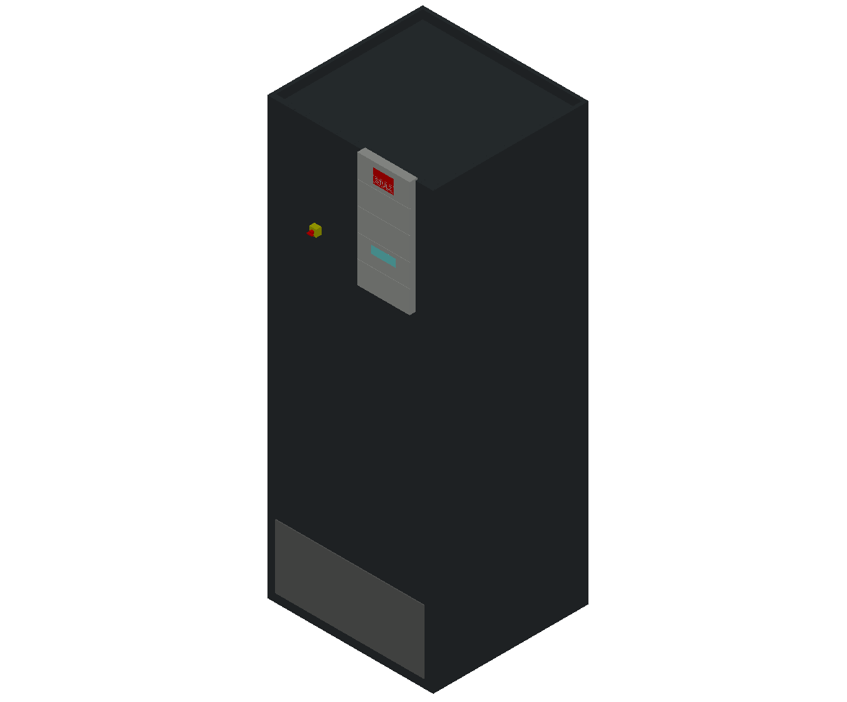 HC_Air Conditioner_Indoor Unit_MEPcontent_STULZ_CyberAir 3PRO_ASR_Single Circuit AS_ASR_271_AS_INT-EN.dwg