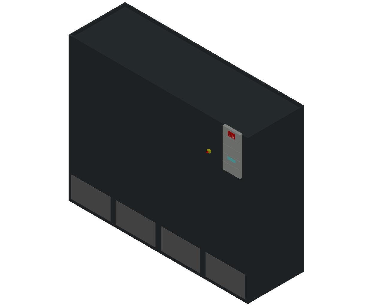 HC_Air Conditioner_Indoor Unit_MEPcontent_STULZ_CyberAir 3PRO_ASR_Dual Circuit A_ASR_1252_A_INT-EN.dwg
