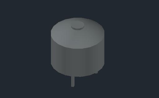 M_Expansion Tank_Floor Standing - Side Connection_MEPcontent_Reflex N 50 grijs_Drukexpansievat_3_4''_0.dwg