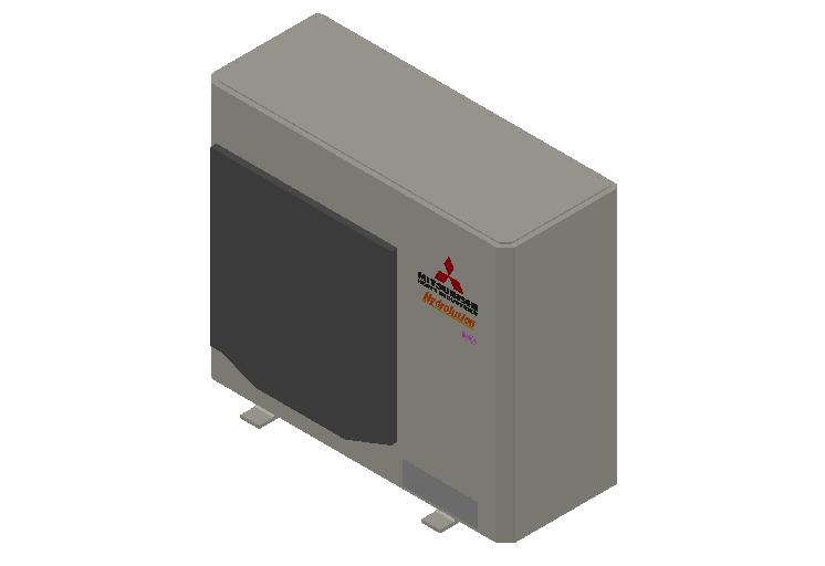HC_Heat Pump_MEPcontent_Mitsubishi Heavy Industries_Hydrolution_FDCW100VNX-A_INT-EN.dwg