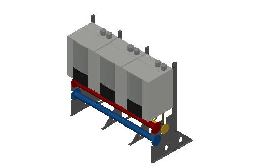 HC_Boiler_MEPcontent_Elco_THISION L EVO CASCADE_IN LINE_3 Boiler_DN100_INT-EN.dwg