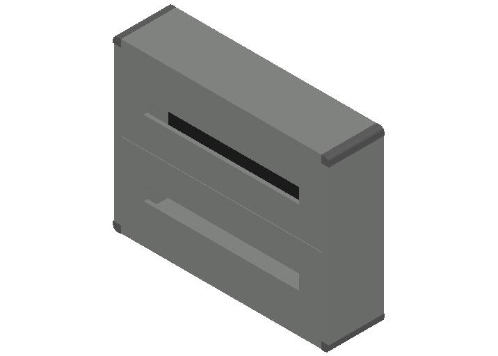 E_Distribution Panel_MEPcontent_Legrand_Lexic XL3 160_Plastic_Wall Mounting_2x48_INT-EN.dwg