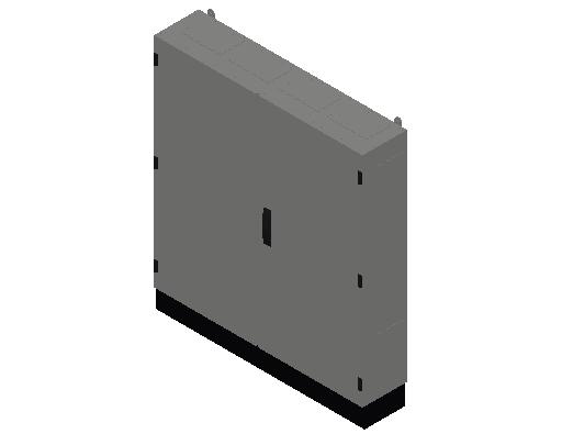 E_Distribution Panel_MEPcontent_ABB_TwinLine N 55_Earthed_1100x1050x225_INT-EN.dwg