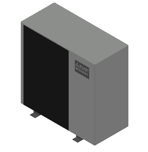 HC_Heat Pump_MEPcontent_Mitsubishi Electric Corporation_Ecodan_PUD-SHWM100YAA_INT-EN.dwg