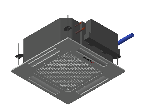 HC_Air Conditioner_Indoor Unit_MEPcontent_Mitsubishi Heavy Industries_PAC_FDTC40VH_INT-EN.dwg