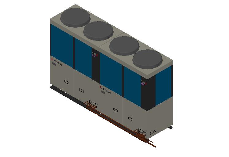 HC_Heat Pump_MEPcontent_Mitsubishi Heavy Industries_VRF_FDC450KXZRXE2_INT-EN.dwg