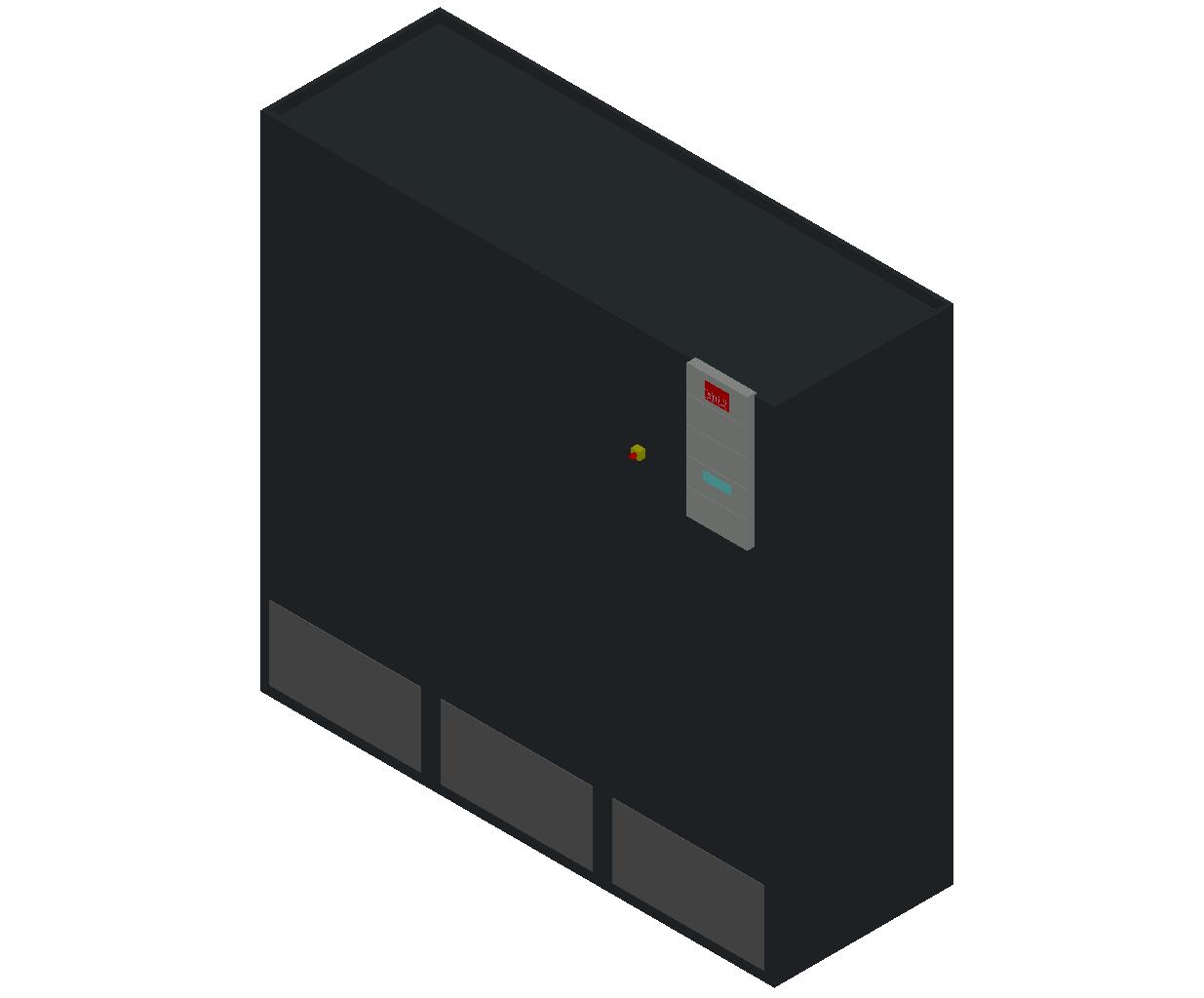 HC_Air Conditioner_Indoor Unit_MEPcontent_STULZ_CyberAir 3PRO_ASR_Dual Circuit A_ASR_1082_A_INT-EN.dwg