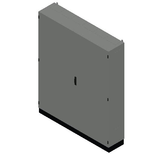 E_Distribution Panel_MEPcontent_ABB_TwinLine N 55_Earthed_1850x1550x350_INT-EN.dwg
