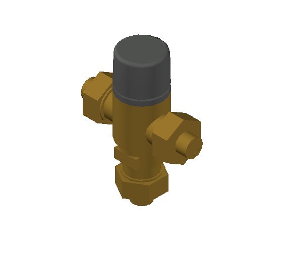 SA_Adjustable_Three-way_Thermostatic_Mixing_Valve_MEPContent_Caleffi-521A_DN15-DN25_.5 in. SWT_US-EN.dwg