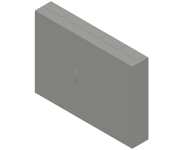E_Distribution Panel_MEPcontent_ABB_ComfortLine B-Cabinets_6 Rows_B56 - IP44 360 modules 950x1300x215_INT-EN.dwg