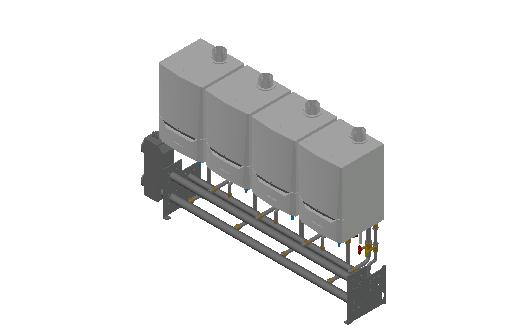 HC_Boiler_MEPcontent_De Dietrich Thermique_Cascade Wall-Mounted 4_Evodens Pro_4x AMC 45 with Concentric Connection 125_INT-EN.dwg