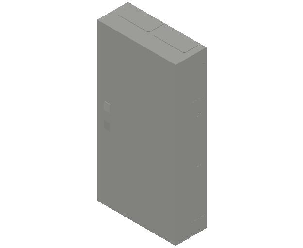 E_Distribution Panel_MEPcontent_ABB_ComfortLine B-Cabinets_7 Rows_B27 - IP44 168 modules 1100x550x215_INT-EN.dwg