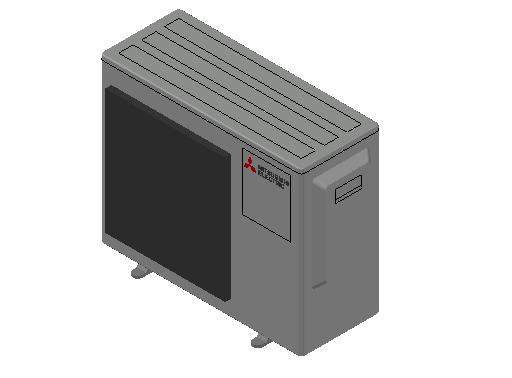HC_Heat Pump_MEPcontent_Mitsubishi Electric Corporation_MXZ-3F68VF_INT-EN.dwg