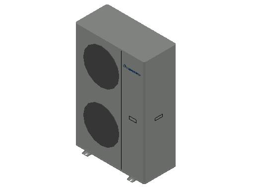 HC_Heat Pump_MEPcontent_Climaveneta_i-BX-N-(Y) 013 3 Phases_INT-EN.dwg