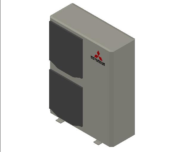 HC_Heat Pump_MEPcontent_Mitsubishi Heavy Industries_PAC_FDC100VSX_INT-EN.dwg