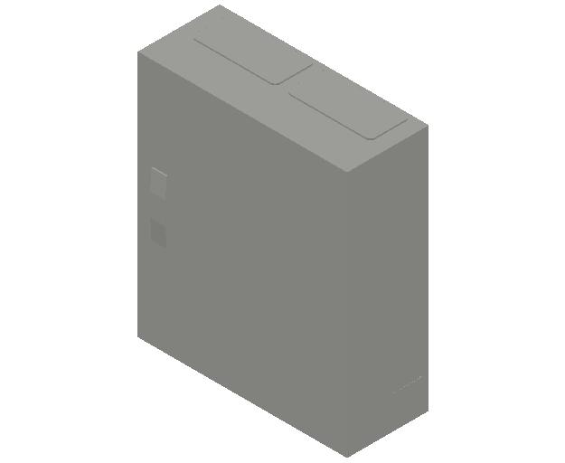 E_Distribution Panel_MEPcontent_ABB_ComfortLine B-Cabinets_4 Rows_B24 - IP44 96 modules 650x550x215_INT-EN.dwg