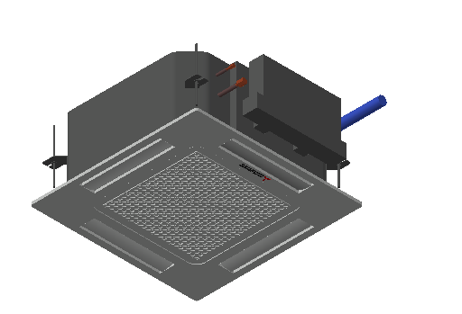 HC_Air Conditioner_Indoor Unit_MEPcontent_Mitsubishi Heavy Industries_PAC_FDTC60VH_INT-EN.dwg