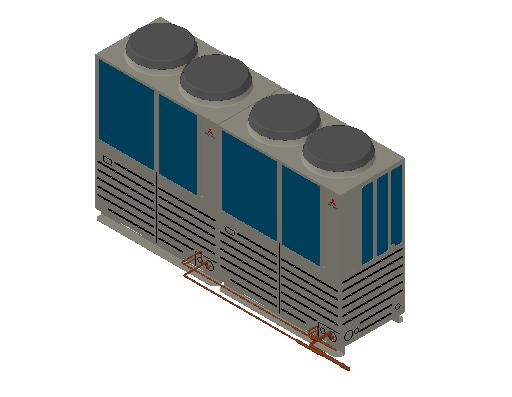 HC_Heat Pump_MEPcontent_Mitsubishi Heavy Industries_VRF_FDC615KXZE1_INT-EN.dwg