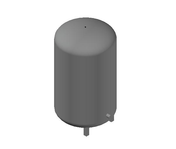 HC_Expansion Vessel_MEPcontent_Caleffi_556_140 Liters_DN20 DN25.dwg
