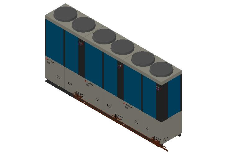 HC_Heat Pump_MEPcontent_Mitsubishi Heavy Industries_VRF_FDC1250KXZRE2_INT-EN.dwg