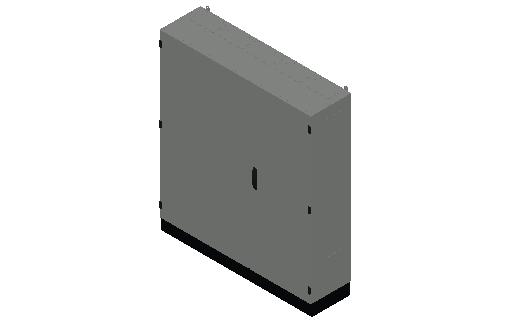 E_Distribution Panel_MEPcontent_ABB_TwinLine N 55_Earthed_1400x1300x350_INT-EN.dwg