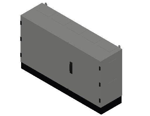 E_Distribution Panel_MEPcontent_ABB_TwinLine N 55_Earthed_650x1300x350_INT-EN.dwg